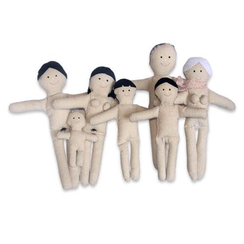 familia de trapo sexuada